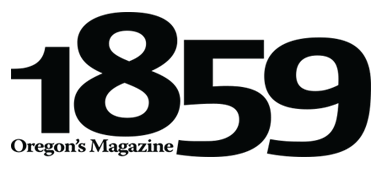 1859 Oregon's Magazine logo