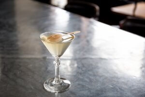 St. Jack's restaurant truffle martini