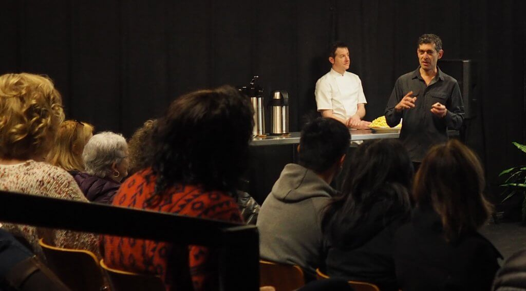 Author Rowan Jacobsen give an educational session on Terroir & Truffles, Sunday, February 16, at the Chehalem Cultural Center. – Photo by Kayt Mathers