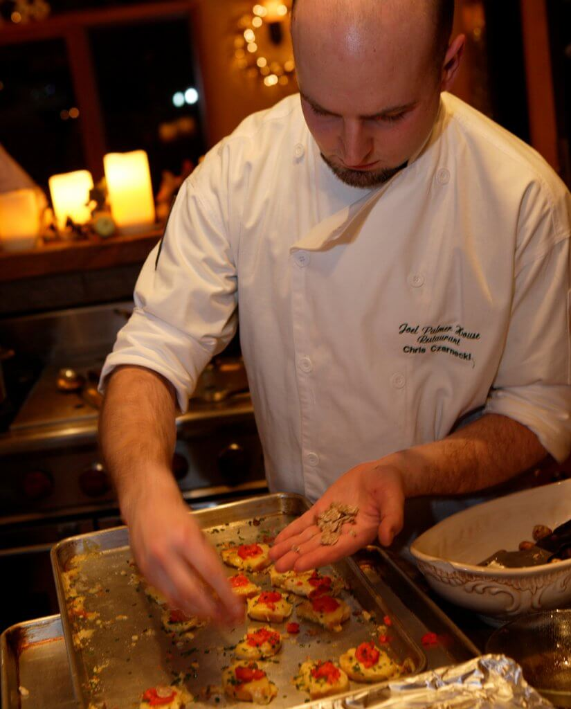 Chef Chris Czarnecki, OTF 2008. Photo by John Valls